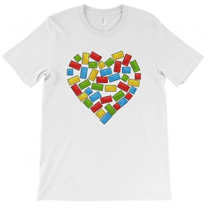 Autism Awareness Heart T-shirt Designed By Akin
