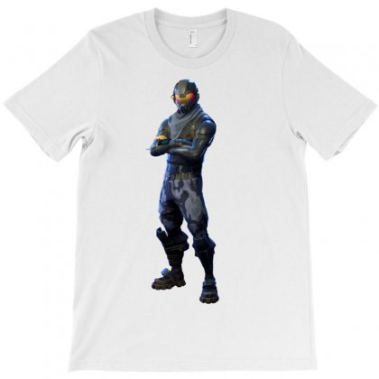 Fortnite Rogue Agent T-shirt Designed By Tiococacola