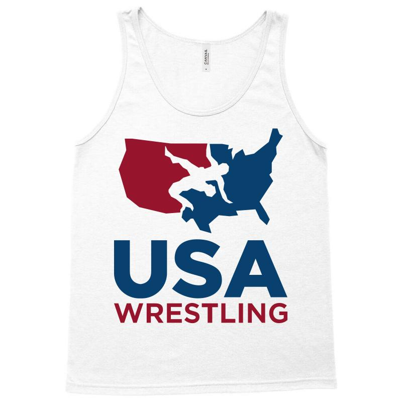 Usa Wrestling Tank Top | Artistshot