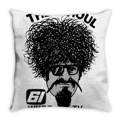 The Ghoul Channel 61 Throw Pillow Designed By Willo