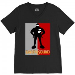 earthbound starman V-Neck Tee | Artistshot