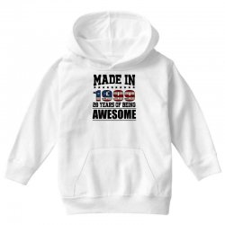 made in 1999 20 years of being awesome Youth Hoodie | Artistshot