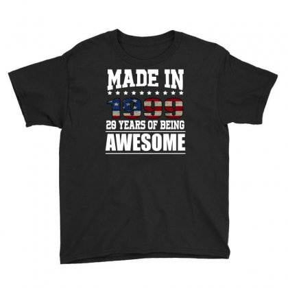 Made In 1999 20 Years Of Being Awesome Youth Tee Designed By Omer Acar