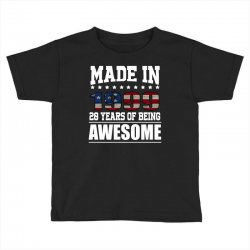 made in 1999 20 years of being awesome Toddler T-shirt | Artistshot