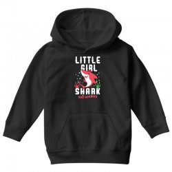 little girl shark family matching Youth Hoodie | Artistshot