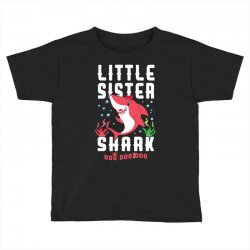 little sister shark family matching Toddler T-shirt | Artistshot