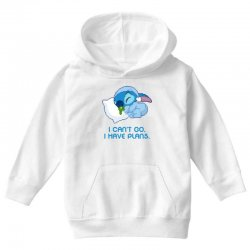 i can't go i have plans stitch Youth Hoodie | Artistshot