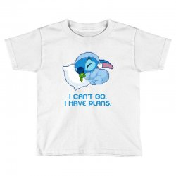 i can't go i have plans stitch Toddler T-shirt | Artistshot