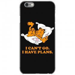 i can't go i have plans garfield iPhone 6/6s Case | Artistshot