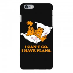 i can't go i have plans garfield iPhone 6 Plus/6s Plus Case | Artistshot