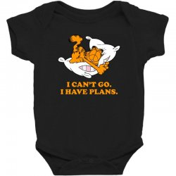 i can't go i have plans garfield Baby Bodysuit | Artistshot