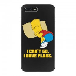 i can't go i have plans bart simpson iPhone 7 Plus Case | Artistshot