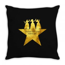 hamilton musical for dark Throw Pillow | Artistshot