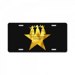 hamilton musical for dark License Plate | Artistshot