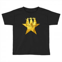 hamilton musical for dark Toddler T-shirt | Artistshot