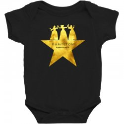 hamilton musical for dark Baby Bodysuit | Artistshot