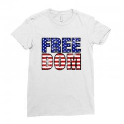 freedom Ladies Fitted T-Shirt | Artistshot