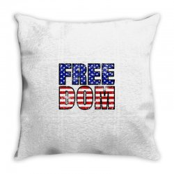 freedom Throw Pillow | Artistshot