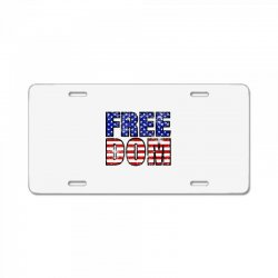 freedom License Plate | Artistshot