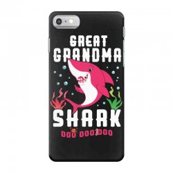 great grandma shark family matching iPhone 7 Case | Artistshot