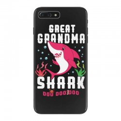 great grandma shark family matching iPhone 7 Plus Case | Artistshot