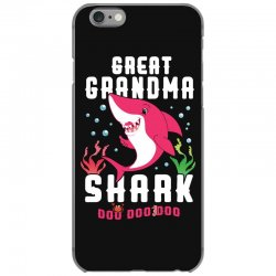 great grandma shark family matching iPhone 6/6s Case | Artistshot