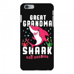 great grandma shark family matching iPhone 6 Plus/6s Plus Case | Artistshot