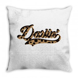 darling Throw Pillow | Artistshot