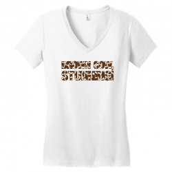 brown cow stunning Women's V-Neck T-Shirt | Artistshot