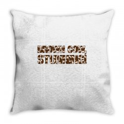 brown cow stunning Throw Pillow | Artistshot