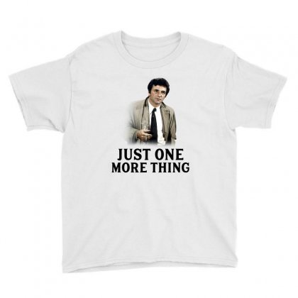 Just One More Thing For Light Youth Tee Designed By Sengul