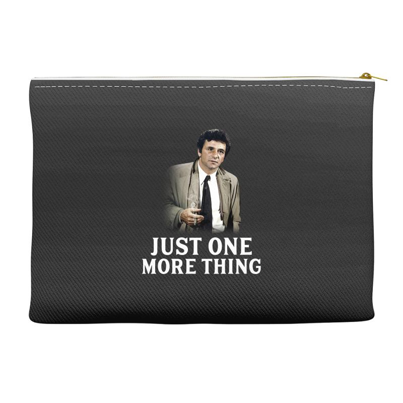 Just One More Thing For Dark Accessory Pouches | Artistshot