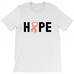 hope endometrial cancer for light T-Shirt | Artistshot