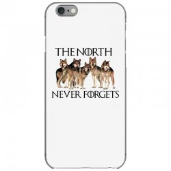 the north never forgets for light iPhone 6/6s Case | Artistshot