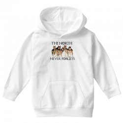 the north never forgets for light Youth Hoodie | Artistshot
