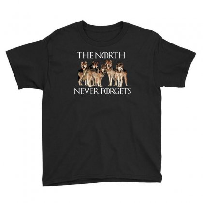 The North Never Forgets For Dark Youth Tee Designed By Sengul