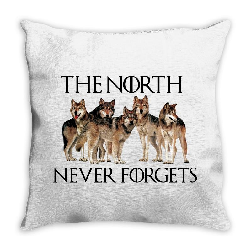 The North Never Forgets For Light Throw Pillow | Artistshot