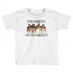 the north never forgets for light Toddler T-shirt | Artistshot