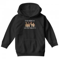 the north never forgets for dark Youth Hoodie | Artistshot