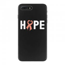 hope endometrial cancer for dark iPhone 7 Plus Case | Artistshot