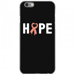 hope endometrial cancer for dark iPhone 6/6s Case | Artistshot