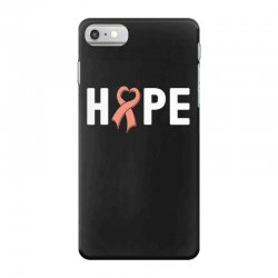hope endometrial cancer for dark iPhone 7 Case | Artistshot