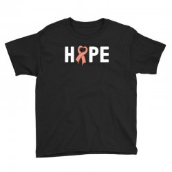 hope endometrial cancer for dark Youth Tee | Artistshot