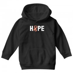hope endometrial cancer for dark Youth Hoodie | Artistshot