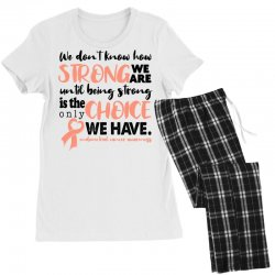 endometrial cancer awareness for light Women's Pajamas Set | Artistshot