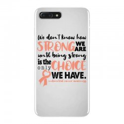 endometrial cancer awareness for light iPhone 7 Plus Case | Artistshot