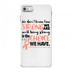 endometrial cancer awareness for light iPhone 7 Case | Artistshot