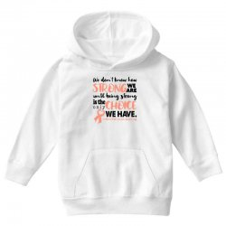 endometrial cancer awareness for light Youth Hoodie | Artistshot