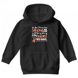 endometrial cancer awareness for dark Youth Hoodie | Artistshot