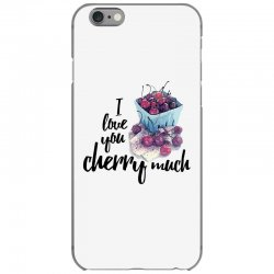 i love you cherry much for light iPhone 6/6s Case | Artistshot